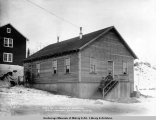 Mess house, soldiers quarters, A.E.C. terminal, Anchorage, Alaska.
