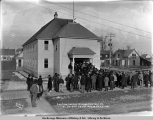 Auction sale of Alaska Central R[ailwa]y at Valdez Court House, Oct. 9, [19]09.