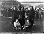 Seward basketball team, Valdez, Alaska, July 4, [19]10.