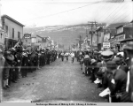 Men's race, Valdez, Alaska, July 4, [19]11.