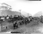 Valdez, Alaska parade, July 4, 1911.