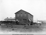 A.E.C. office building, Matanuska Junction, Alaska, July 26, [19]16.