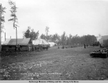 Laying steel into Camp 14, Moose Creek, Aug. 24, [19]16.