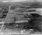 Aerial view of Anchorage, Alaska, south of 9th Avenue, 1925.