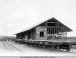 A.E.C. freight house, Matanuska Junction, Alaska, July 26, [19]16.