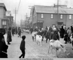 Elks Club Day, Nome, Alaska, Jan. 10th, 1908.