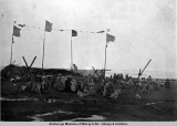 "Native Eskimo ""Nalu Kabak"" whale ceremonies, Pt. Barrow, Alaska, June 1921."