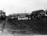 Decoration Day parade, school children, Anchorage, Alaska, May 30, [19]17.