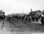 Decoration Day parade, Anchorage, Alaska, May 30, [19]17.