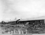 Dressed lumber shed, carpenter shop, pipe shed, iron shed and warehouse no. 2 or mechanical dept....
