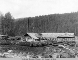 A.E.C. sawmill at Camp 245.