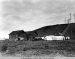 A.E.C. R[ailwa]y old hospital and social hall, Anchorage, Alaska.
