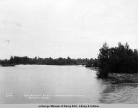Government bridges across Talketna [sic] River, Talketna [sic], Alaska.
