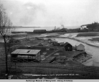 Anchorage Harbor and mouth of Ship Creek, Oct. 21, 1921.