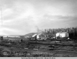 Main offices, commissary and bunkhouse bldgs., A.E.C. R[ailwa]y, Anchorage, Alaska.