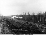 Town of Wassila [sic], Alaska, from Matanuska wagon road, May 4, [19]17.