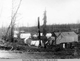 Temporary town of Wassila [sic], Alaska.