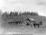 Rudolph Weiss ranch house, 1 1/2 miles north of Matanuska Junction, main line, A.E.C. R[ailwa]y,...