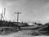 The old temporary town of Wasilla on day of lot sale, June 20, [19]17.