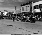 1949 4th of July Parade, Anchorage.