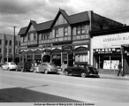 Anchorage, northeast corner of 4th Avenue and E Street, May 15, 1949