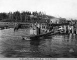 "Launching the ""Betty M."", Anchorage, Alaska, Aug. 1, [19]17."