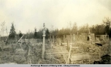 Old Russian cemetery at Kenai, May 21, 1940.