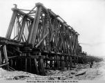 Span no. 1, Talkeetna River bridge, March 4, 1919.