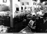 Interior of Hewitt's Drug Store.