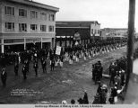 Carpenters Union, Labor Day parade, Sept. 3, [19]17, Anchorage, Alaska.