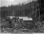 A.E.C. R[ailwa]y, Mat[anuska] Coal Co. camp, Chickaloon coal fields, Oct. 9, 1918.