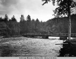 Wagon bridge across Indian River, mile 270 Gov[ernment] R[ail]road.