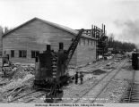 Coal washing plant, Sutton, Oct. 17, 1921, looking north.