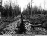 Water pipeline for coal washing plant, Oct. 3, 1921.