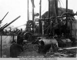 Power plant after fire, Nov. 15, 1921.