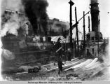 Power plant after fire, Nov. 16, 1921.