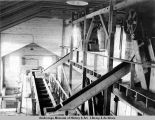 Interior view, Sutton coal washing plant.