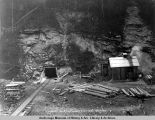 Portal Maitland tunnel & fan house, May 27, 1919.