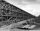 South approach to Tanana bridge, Aug. 26, 1922.