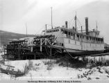River steamers Gen[era]l Jacobs & Davis in winter quarters, 10-27-1922.