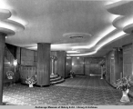 4th Avenue Theatre lobby, Anchorage, 1947.