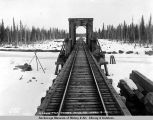 Kashwitna bridge, mile 199, April 15, 1919.