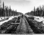 Mile 221, Fish Lake siding, Ap[ril] 16, 1919.