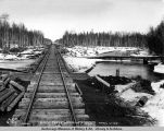 Birch Creek crossing, m[ile] 220.5, April 16, 1919.