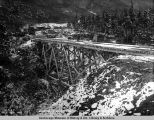Bridge 69, to be replaced with rock fill, Oct. 7, 1919.