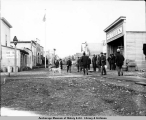 Cordova, looking east on Main Street, 1908.