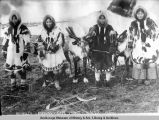 Reindeer and Eskimos of Cape Prince of Wales, Alaska.