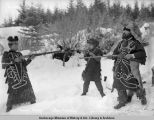 Native people, Fort Wrangel[l], Alaska.