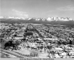 Anchorage, central business district, 1965.