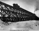 Jan. 3, 1920, filling in bridge no. 85, Turnagain Arm, mile 55.